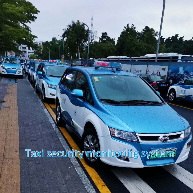 Taxi security monitoring system
